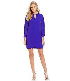 Belle Badgley Mischka Dolman Sleeve Cocktail Dress #Dillards
