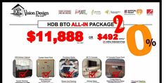 DC Vision Design Singapore HDB BTO ALL-IN Package 2 Promotion 27-28 May 2017