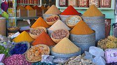 #Spices in #Marrakesh #Morocco #Souq