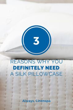 Have you heard of the beauty benefits that silk pillowcases give you? These three reasons will change your life!