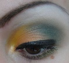 Geek Chic Cosmetics - gradual thicker liner on outer half of lid angling upward lifts the eye