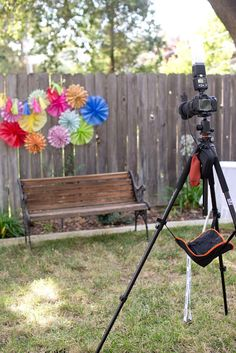 How to set up a DIY photo booth using your DSLR camera.