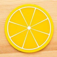 Silicone Fruit Shape Insulated Coasters