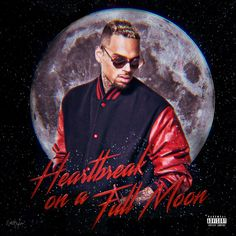 Chris Brown - Heartbreak On A Full Moon • Album Cover by Ninetyfourarts ▪️ #chrisbrown #hoafm