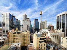 the view east Trafalgar apartments Kent St Sydney #sold #c21city