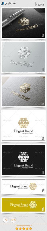 Elegant Brand Logo Template #design #logotype Download: http://graphicriver.net/item/elegant-brand-logo/8661149?ref=ksioks