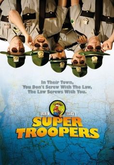 Synopsis: Five Vermont state troopers, avid pranksters with a knack for screwing up, try to save their jobs and out-do the local police department by solving a crime.Starring: Jay Chandrasekhar, Kevin Heffernan