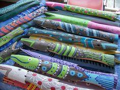 These look soooo cool! Latitude 43 Designs in Maine  Fish Sticks