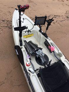 My rigged Hobie Kayak Outback 2015