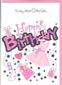 Latest Collection Of Happy Birthday Images Animated Jpg 217x300 For Cousin Female
