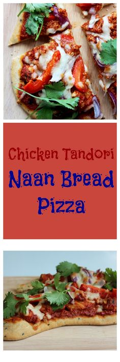Chicken Tandoori Naan Bread Pizza