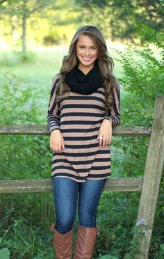 The Pink Lily Boutique - Cozy Weekend Tunic Mocha, $30.00 (http://www.thepinklilyboutique.com/cozy-weekend-tunic-mocha/)