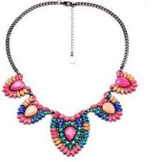 """""""Running wild, living free""""  necklace statement boho chic  www.thehangoutb.com"""