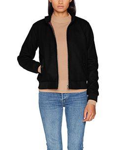 c502a863b624 Femme Veste en Jean À Manches Longues Slim Fit Déchiré Denim Jacket ...