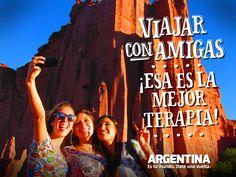 """""""Viajar con amigas ¡Esa es la mejor terapia!""""    Más info de #Viajes por #Argentina en: www.facebook.com/viajaportupais #ArgentinaEsTuMundo #Travel #frases #friends #amigas #turismo #escapada #turistas #viajes #maleta #experiencias Around The Worlds, Frases Friends, Words, Movies, Movie Posters, Facebook, The World, Elopements, Lol Quotes"""