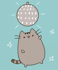 (Side note, this isn't official Pusheen, it belongs to someone over on dA, find it here.)