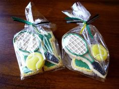 Smith-O-Lator: More Tennis Team Cookie Favors