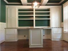 Home Office   Dual Desk Setup   Library/Den   Pinterest   Desk Setup, Desks  And Office Spaces
