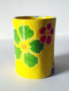 kubek - Piekarnia sztuki - Krystyna Nicz #ceramika #handmade #ceramic #pottery