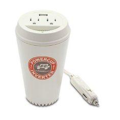 Toh Querendo: Copo Adaptador de Energia e USB