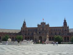 Sevilla: Plaza de Espana.