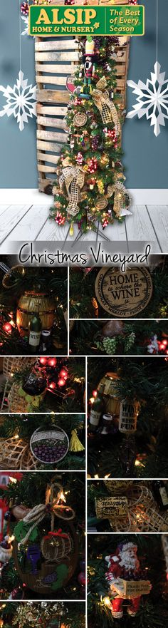 Christmas Vineyard 2