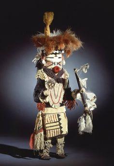 Brooklyn Museum: Arts of the Americas: Kachina Doll (Paiyatemu)