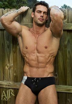 ROBERT BUSOLIN male fitness model © AJ RILEY