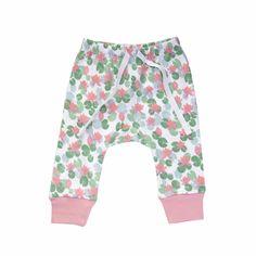 Jaime King for Sapling 100% Organic Cotton Pants- Floating Lotus