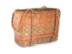 Antique Penobscot Indian Basket