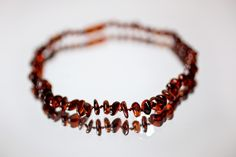 Baltic Amber teething necklace review - moms love these! Click through for the review.