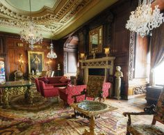 Warwick Castle - The Cedar Room