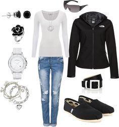 """North Face Fashion"" by jpvermont on Polyvore"