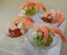 Shelly's Red & Green Holiday Shrimp Cocktail