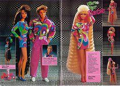 Barbie Journal 1992 (Finnish) (vaniljapulla) Tags: barbie catalogue vintagebarbie ultrahairken ultrahairwhitney ultrahairbarbie barbiejournal1992