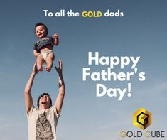 For all those Gold memories you created. Gold Cube Happy Fathers Day, Cube, Dads, Memories, Gold, Happy Valentines Day Dad, Memoirs, Souvenirs, Fathers