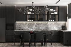 Interior Design,Visual Effects,Architecture Home Room Design, Modern Home Interior Design, Contemporary Kitchen Design, House Design, Kitchen Bar Design, Kitchen Styling, Neoclassical Interior, Modern Kitchen Interiors, Cupboard Design