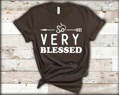 Funny Thanksgiving Shirts, Blessed Shirt, Thanksgiving Blessings, Fall Shirts, Personalized T Shirts, Cotton Tee, Colorful Shirts, Campaign, Autumn
