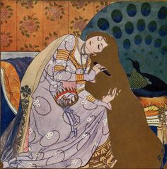 Artuš Scheiner 'Zlatovláska / Princess Goldie' Czech fairy tale by Karel Jaromír Erben