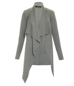 The Karlie Knit Cardi is both timeless and on-trend, making it a worthwhile investment this season. Made from a cotton blend jersey, this is a winter layering essential. With a super slim sleeve, waterfall front and hook closure at the shoulder. Fashion Books, Knitwear, Slim, Blazer, Grey, Sleeves, Cotton, Jackets, Shopping