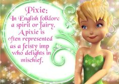 My Tinkerbell Creation: Pixie  By Ladee Pink