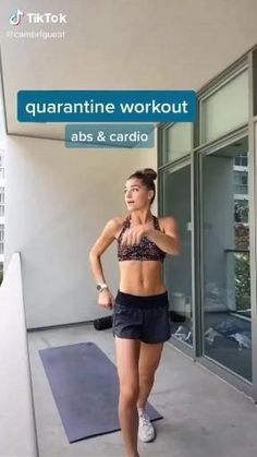 Fitness Workouts, Workout Cardio, Full Body Gym Workout, Cardio Abs, Slim Waist Workout, Gym Workout Videos, Gym Workout For Beginners, Fitness Workout For Women, Sport Fitness