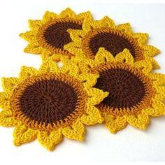 Watch The Video Splendid Crochet a Puff Flower Ideas. Wonderful Crochet a Puff Flower Ideas. Crochet Coaster Pattern, Crochet Flower Patterns, Doily Patterns, Crochet Motif, Crochet Doilies, Crochet Flowers, Crochet Stitches, Knit Crochet, Crochet Home