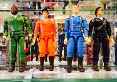 The #Ateam action figures