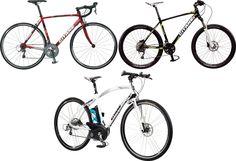 Course GTN 1500, VTT Rocks 40 et eBike Nocar homme : vélos Gitane made in France.
