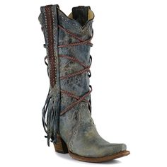 Corral Women's Braided Overlay and Studs Western Boots  I want these in my closet NOW!!!