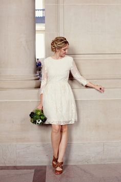 City hall wedding dress inspiration for unique brides | ROMANCING ...