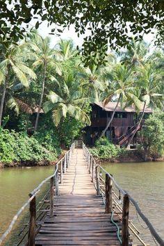 Ashiyana Yoga Retreat Village, Goa - India