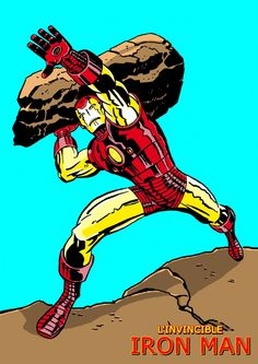 The Invincible Iron Man Pin Up Art