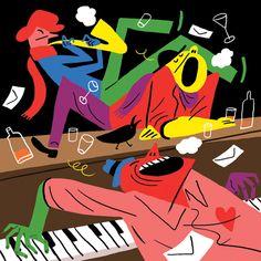 The Three Pianos.  Bendik Kaltenborn. The New Yorker